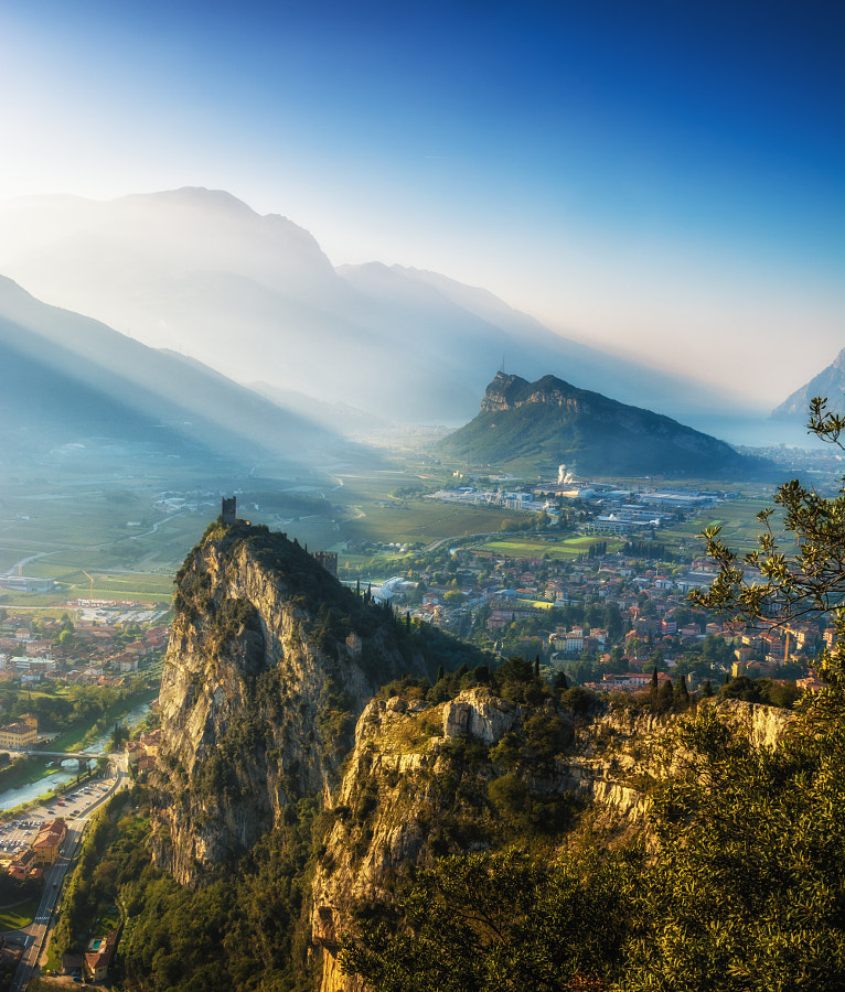 Photograph Morning above the castle in Arco by Jiri George Dolejs on 500px