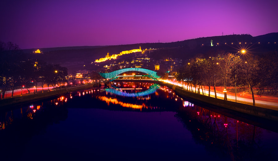 The Bridge of Peace by Michael Tsitsiashvili on 500px.com