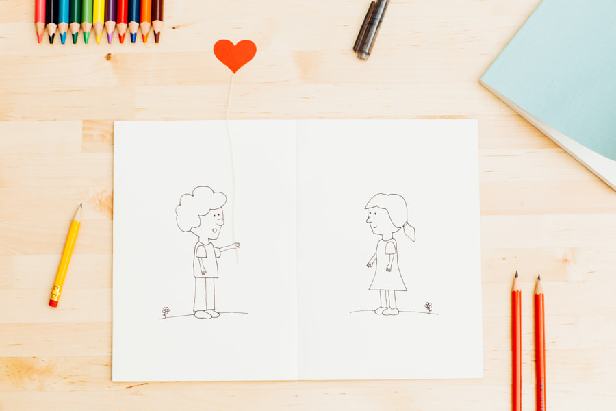 Cute love doodles by Lemon Tree Images on 500px.com