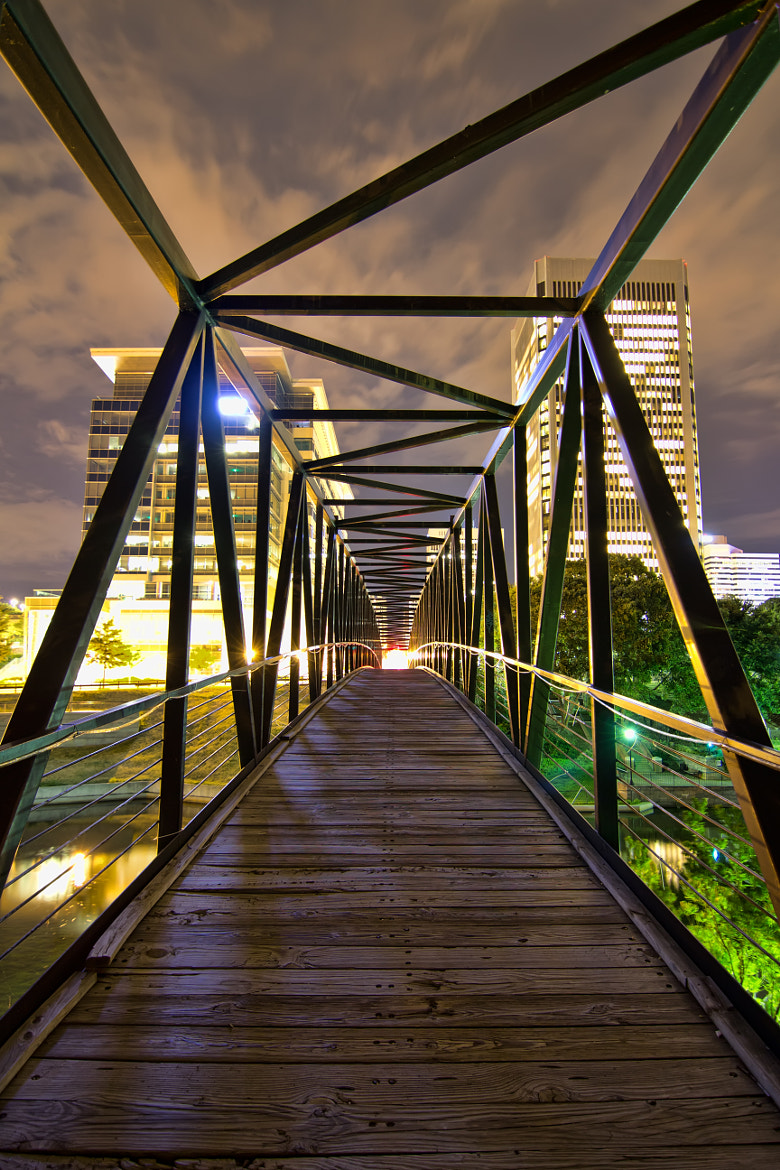 Photograph Pedestrian Bridge by Aaron  Dryden on 500px