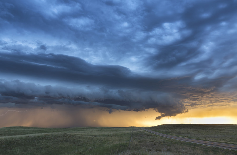 Photograph Ogallala Nebraska Supercell by Kelly DeLay on 500px