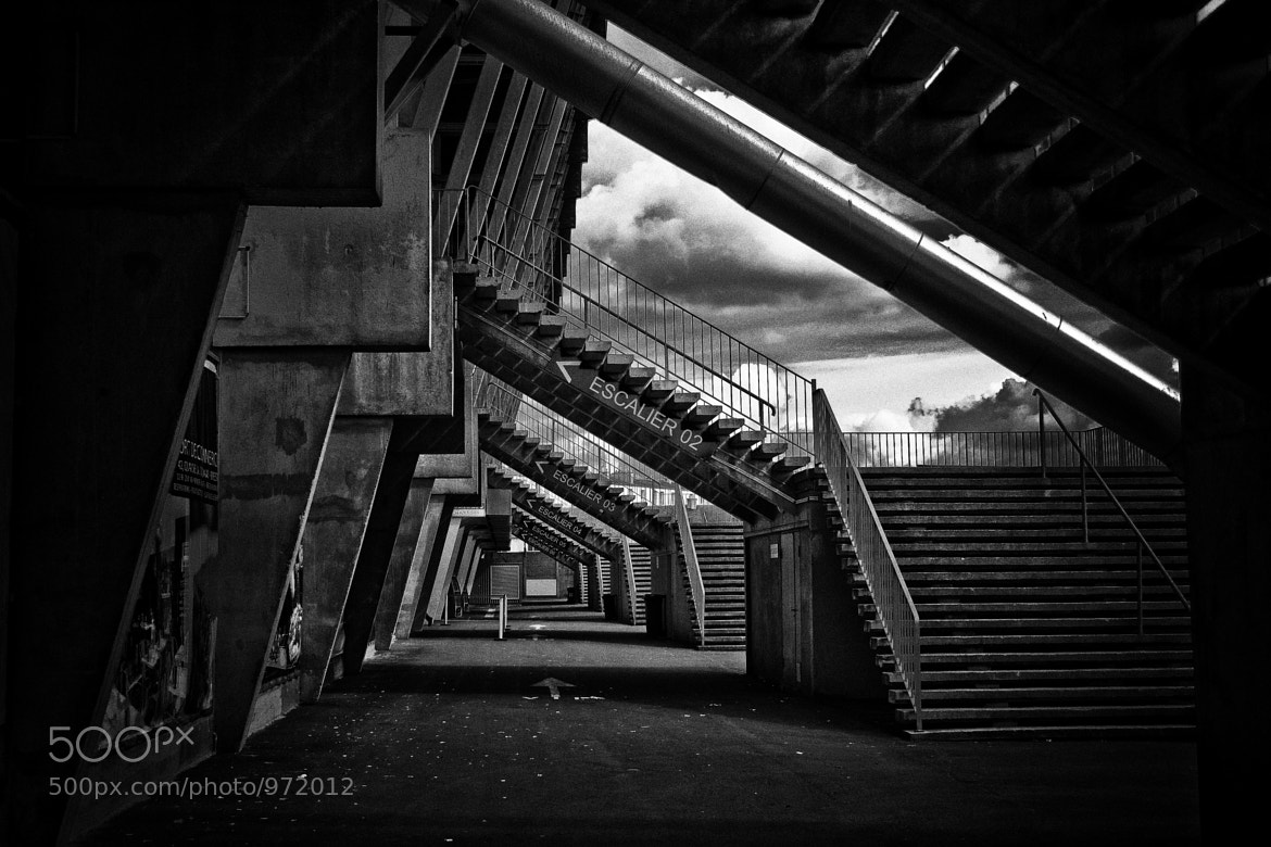 Photograph behind the stadium by Loïc Moyou on 500px
