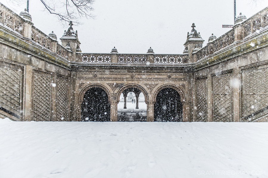 Photograph The Bethesda Terrace by Grant Friedman on 500px