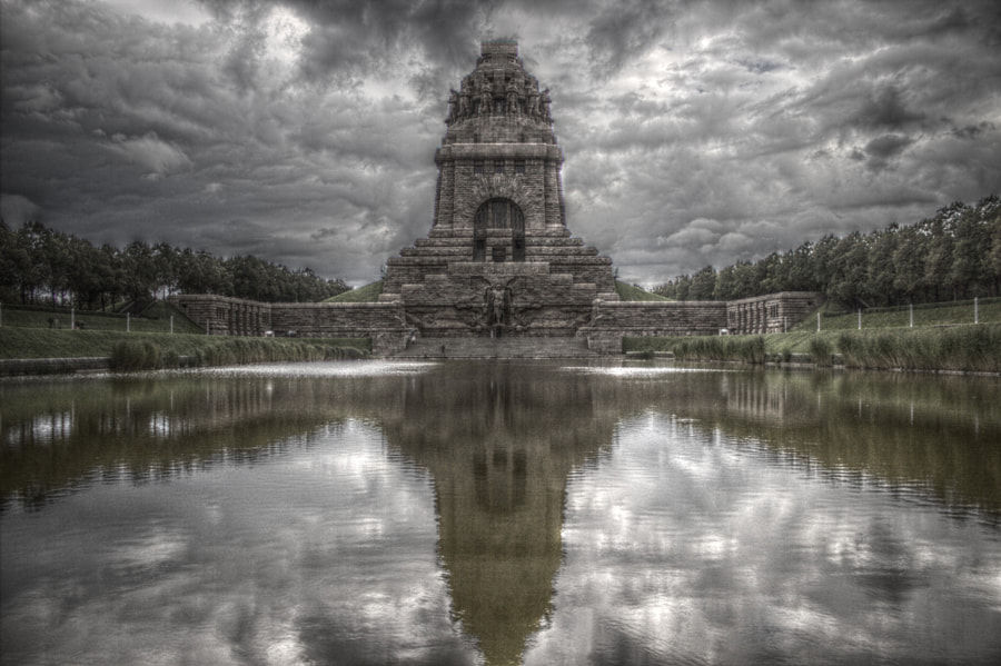 Photograph Battle of the Nations Monument in Leipzig V2 by Thomas on 500px