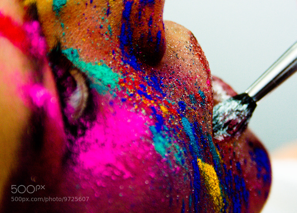 Photograph Colorful makeup by Carlos Céspedes Photography on 500px