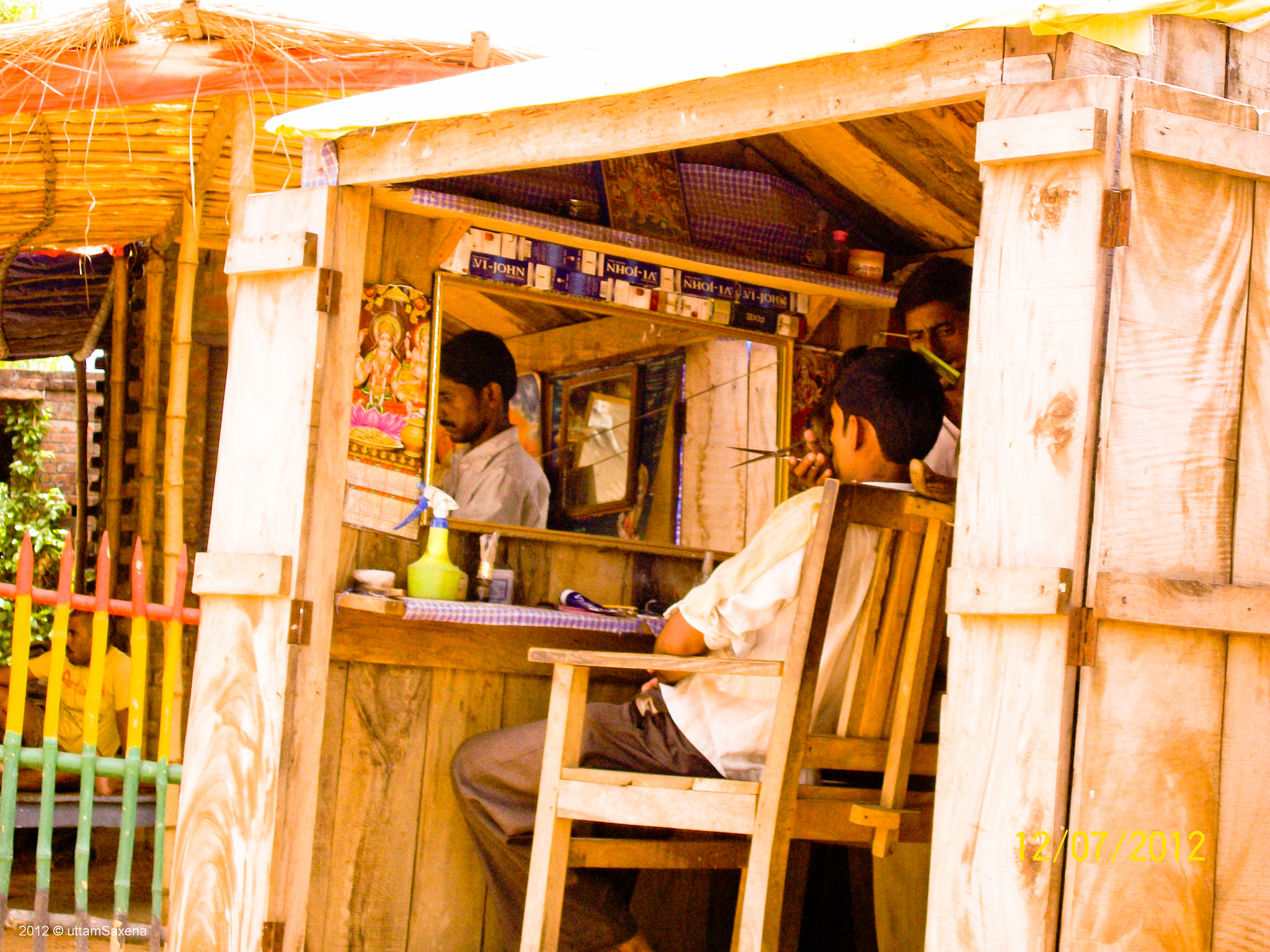 Photograph Indian Village # 2 - Barber Shop by Uttam Saxena on 500px