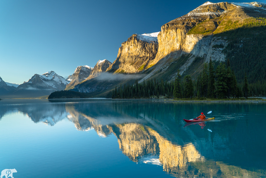 Casual Kayaking in Alberta, Canada by Chris  Burkard on 500px.com