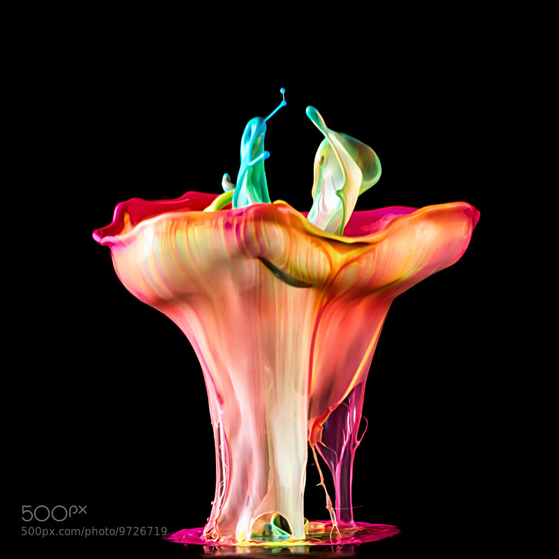 Photograph Liquid Sculpture by Markus Reugels on 500px