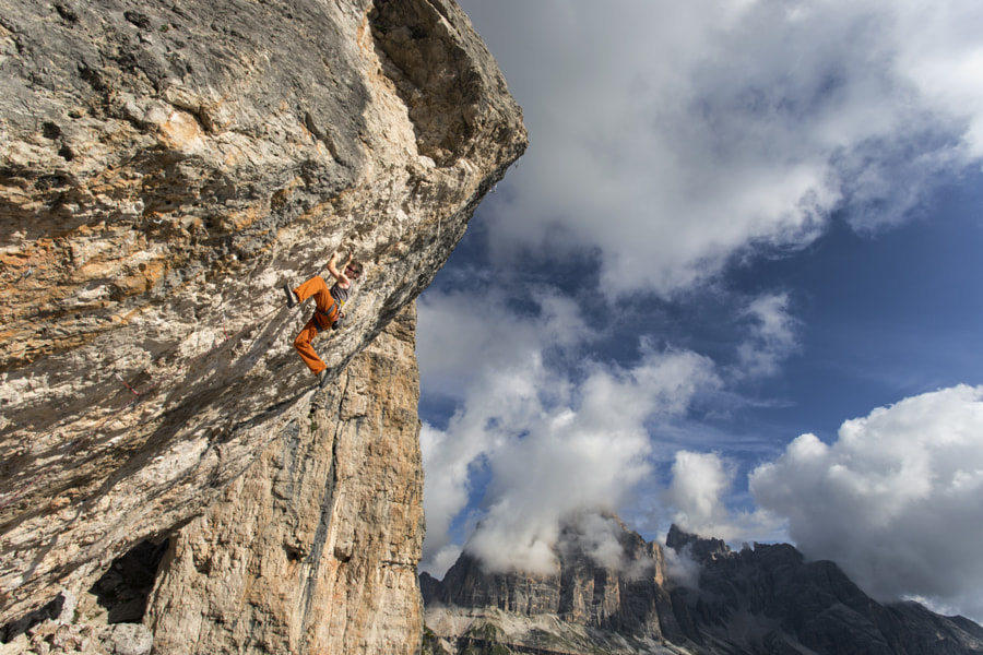 Photograph Climbing at Cinque Torri by James Rushforth on 500px