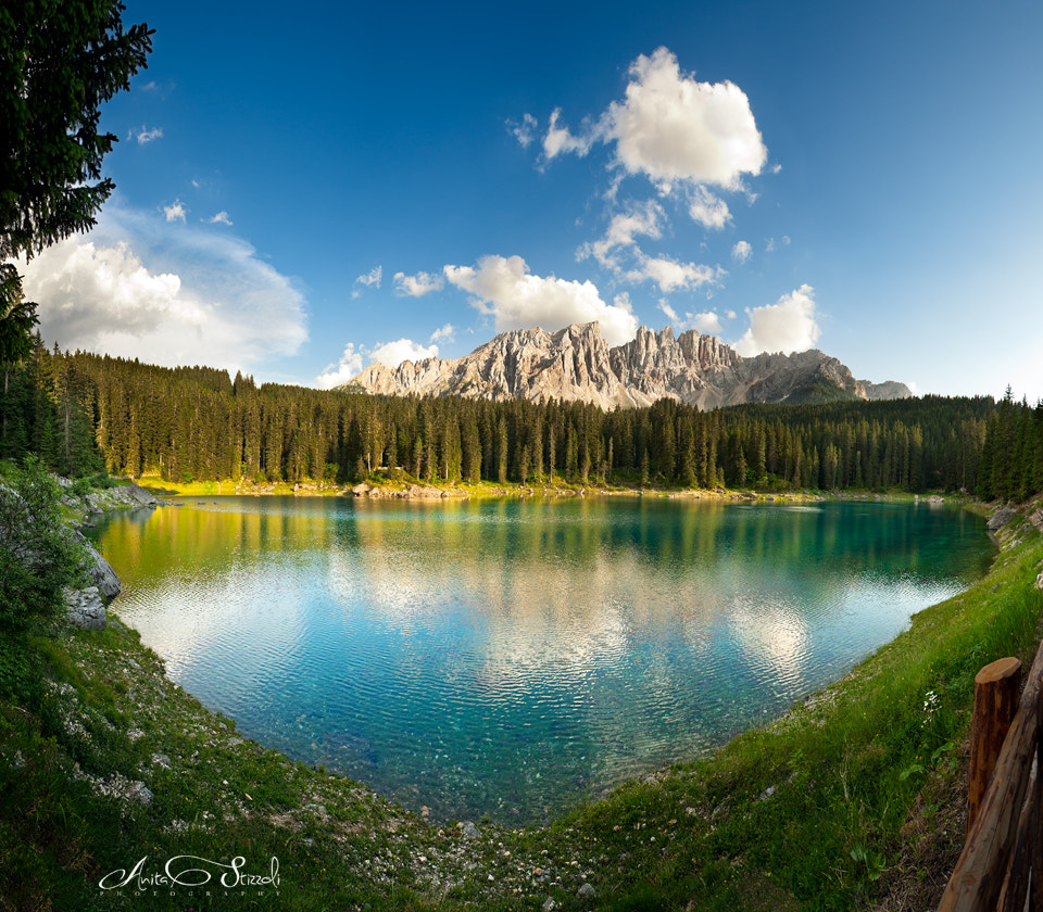 Photograph Rainbow lake in the Dolomites by Anita Stizzoli on 500px