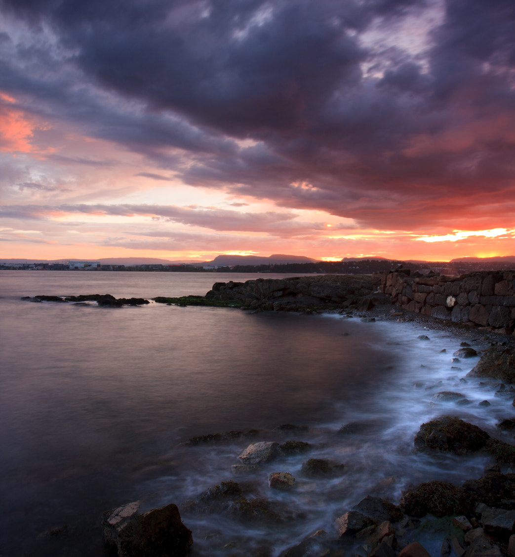 Photograph The Last Light - Panorama by Henning Evju on 500px