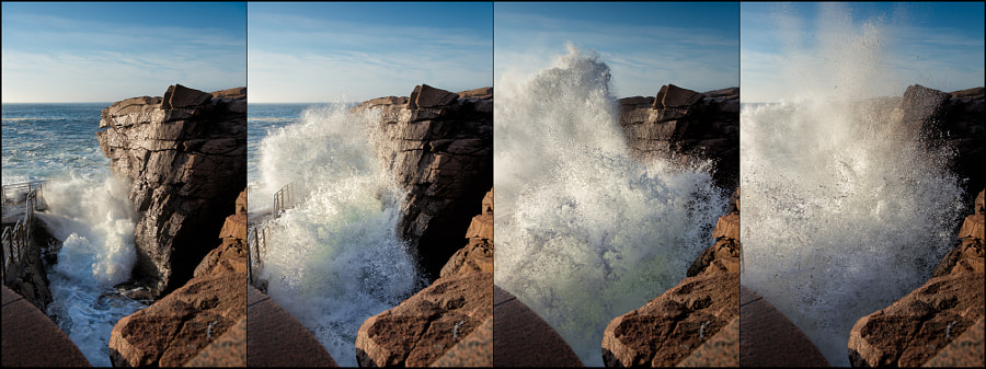 "Photograph They Call It ""Thunder Hole"" (Acadia NP, Maine) by Rob Hanson on 500px"