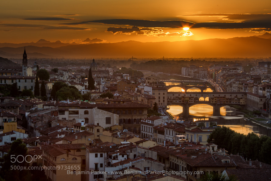 Photograph Florence Sunset by Benjamin Parker on 500px