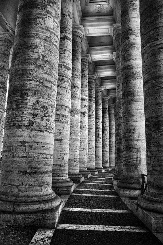 Photograph St. Peter's Colonnade by mario pignotti on 500px