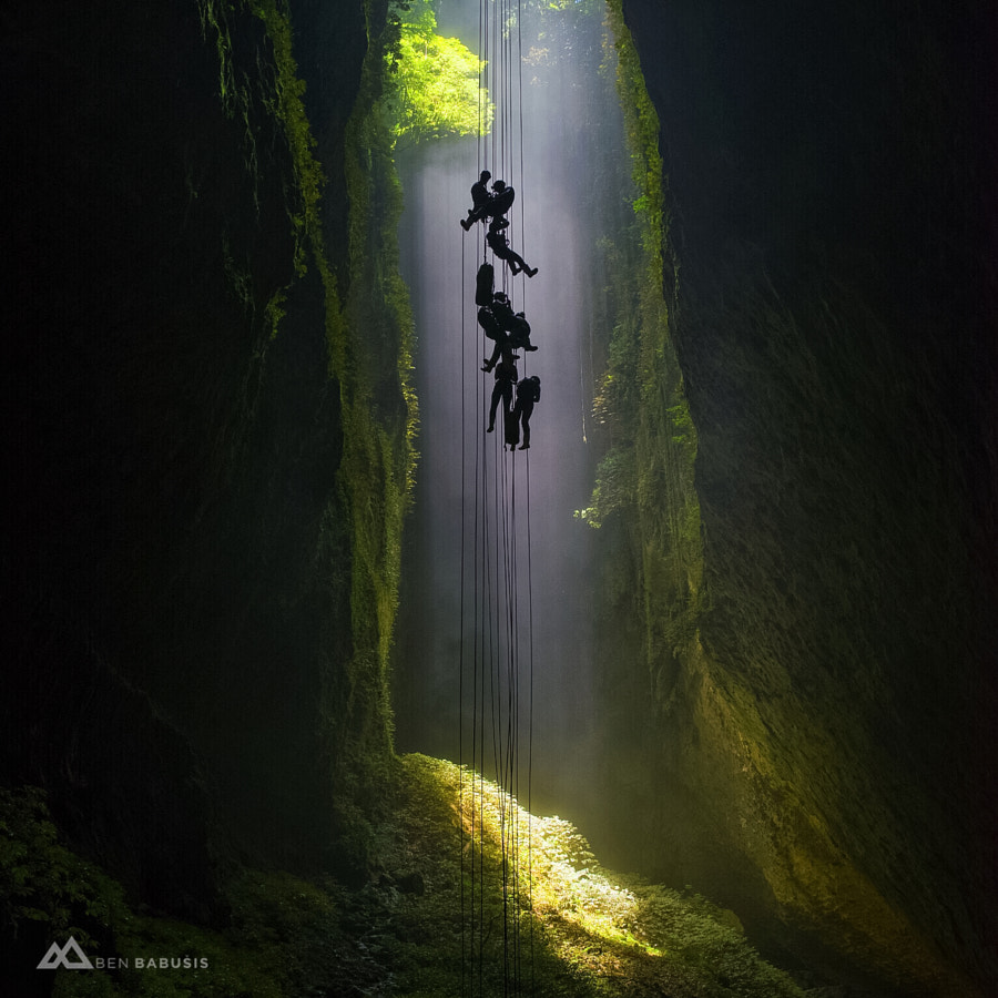 Photograph Descent into Heaven by Ben Babusis on 500px