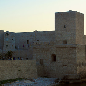 The medieval castle of Trani (Italy) - Previously was a prison. by Antonio Anelli (anthos53)) on 500px.com