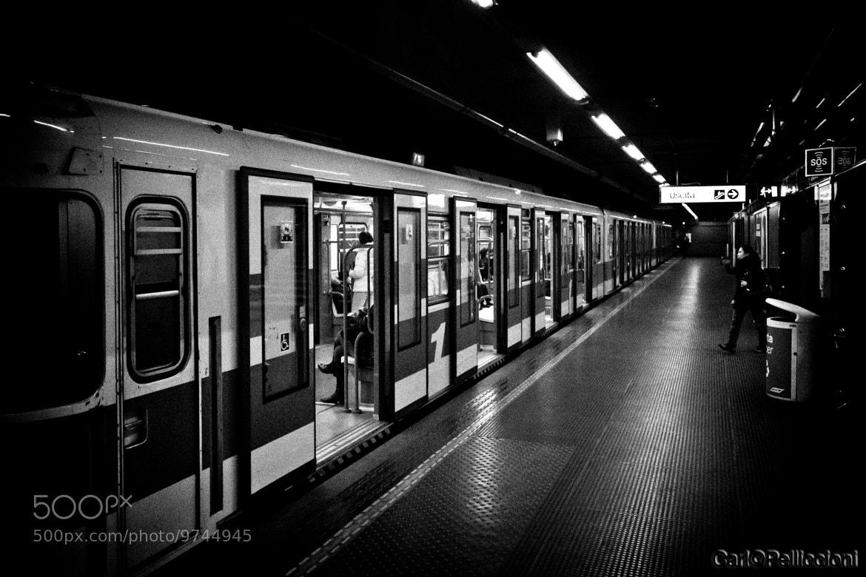 Photograph Dark Subway by Carlo Pelliccioni on 500px