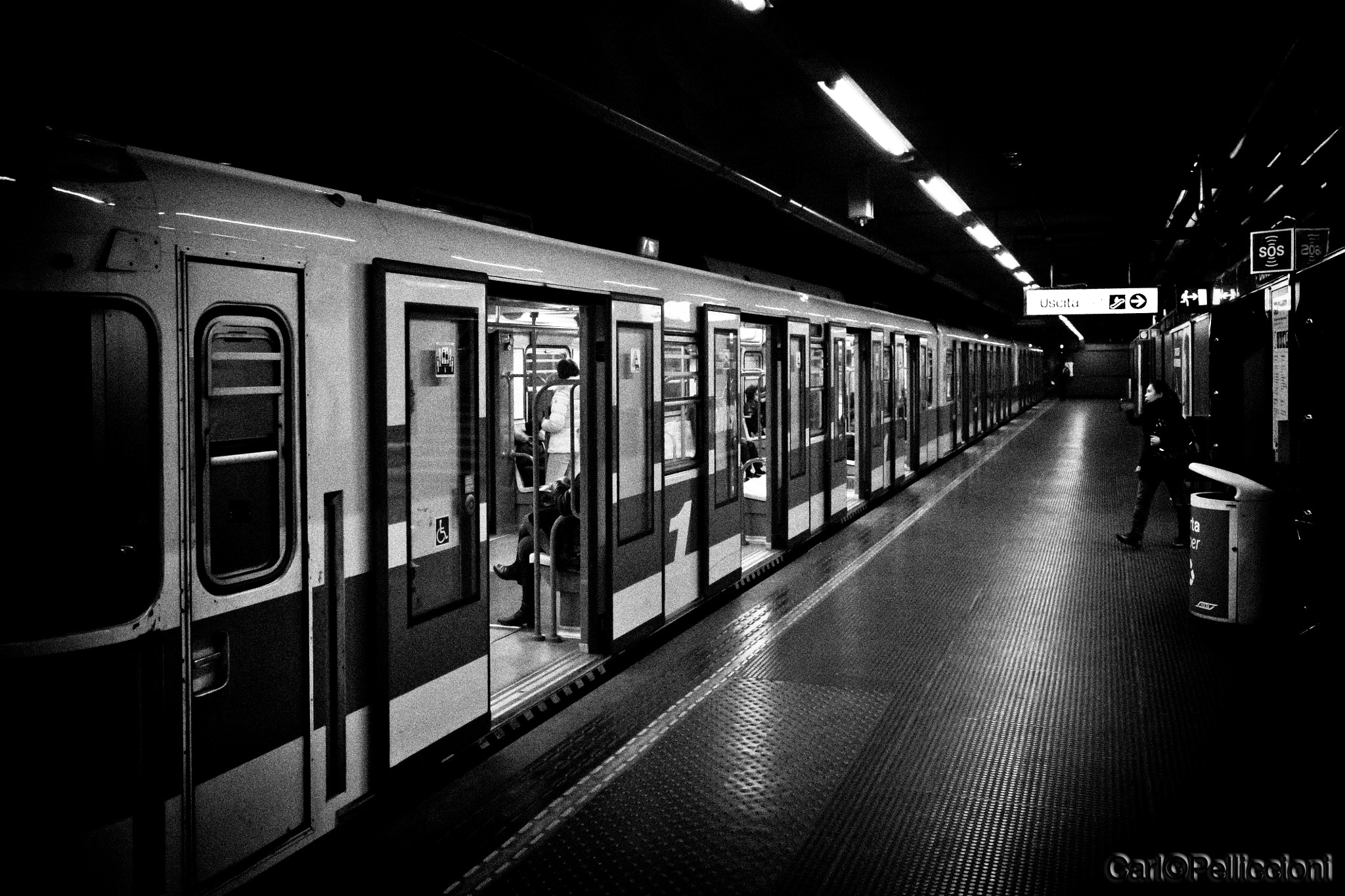 Photograph Dark Subway by Carlo Pelliccioni on 500px