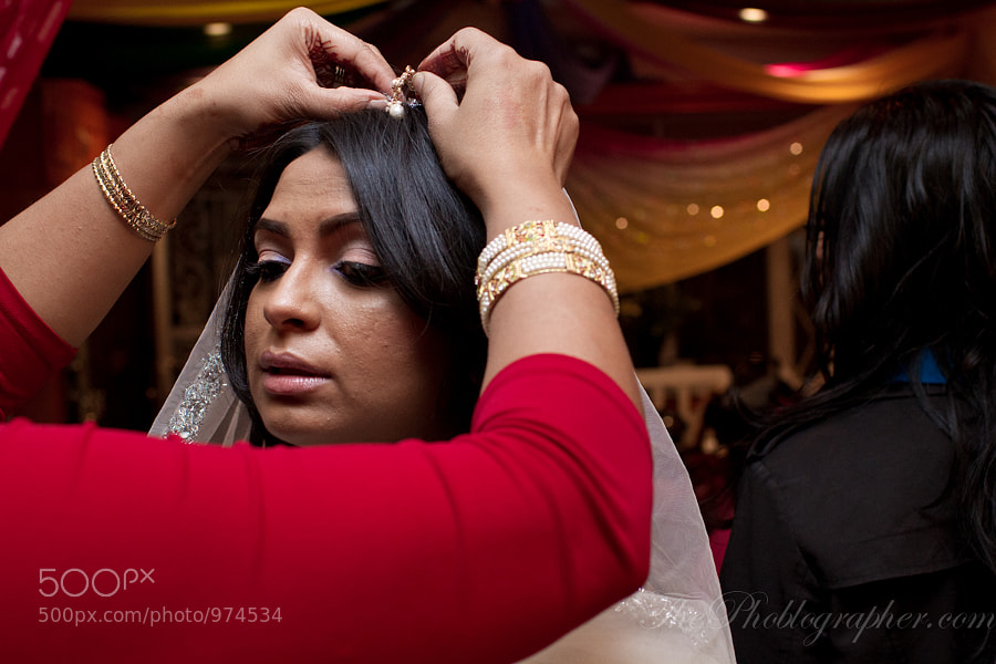 Prepping the Bride by Chris  Gampat (ChrisGampat) on 500px.com