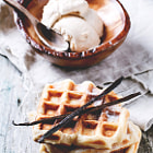 Постер, плакат: Waffles & Ice Cream