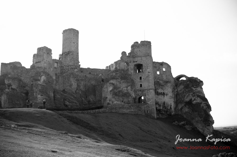 Photograph Ogrodzienie -  ruins of medieval castle by Joanna Kapica on 500px