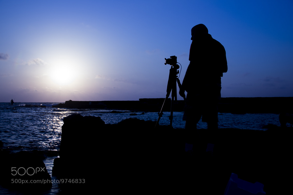 Photograph sunset in Caesarea  by Gal Cohen on 500px