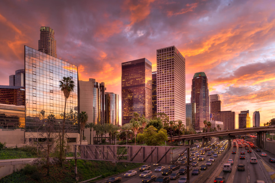 Los Angeles Downtown HDR