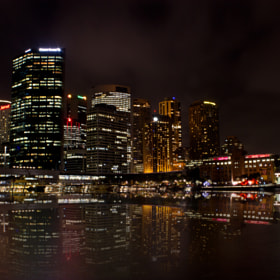 Reflections Sydney Skyline