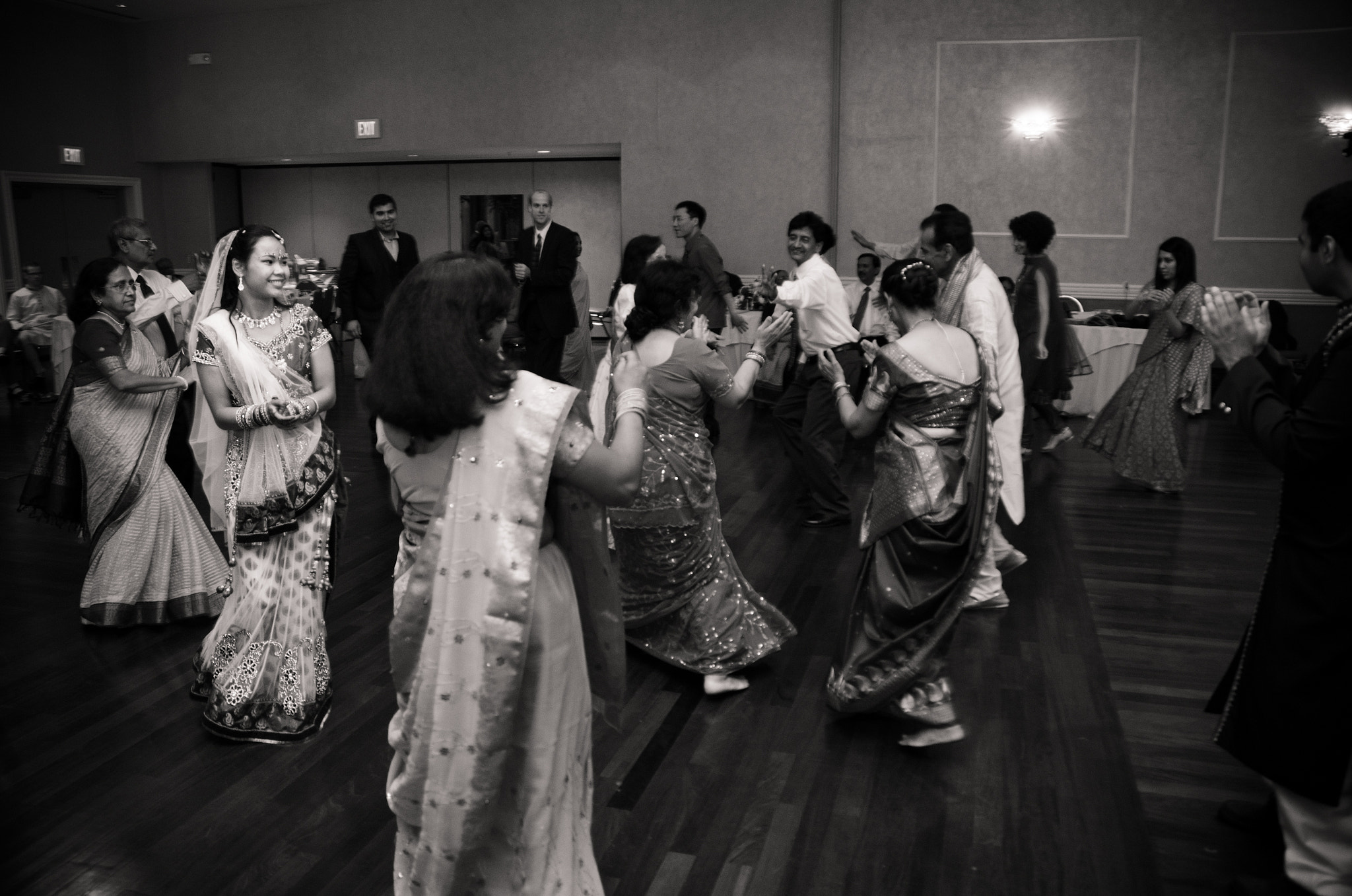 Photograph Bride and Guests Dancing by Dimitri Hepburn on 500px