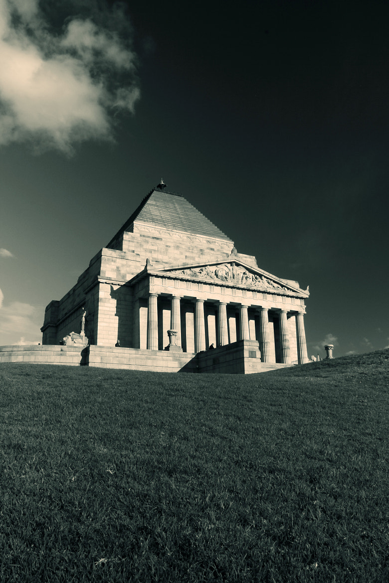 Photograph shrine of remembrance 2 by Mohammed Attar on 500px