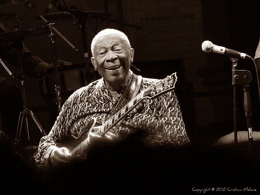 Photograph B.B. King by Cristian Melone on 500px