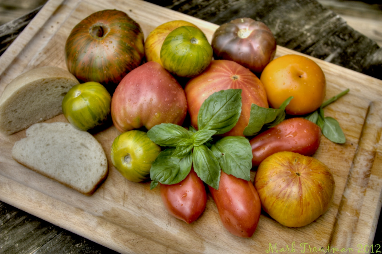Photograph HDR Heirloom Tomatoes by Mark T on 500px