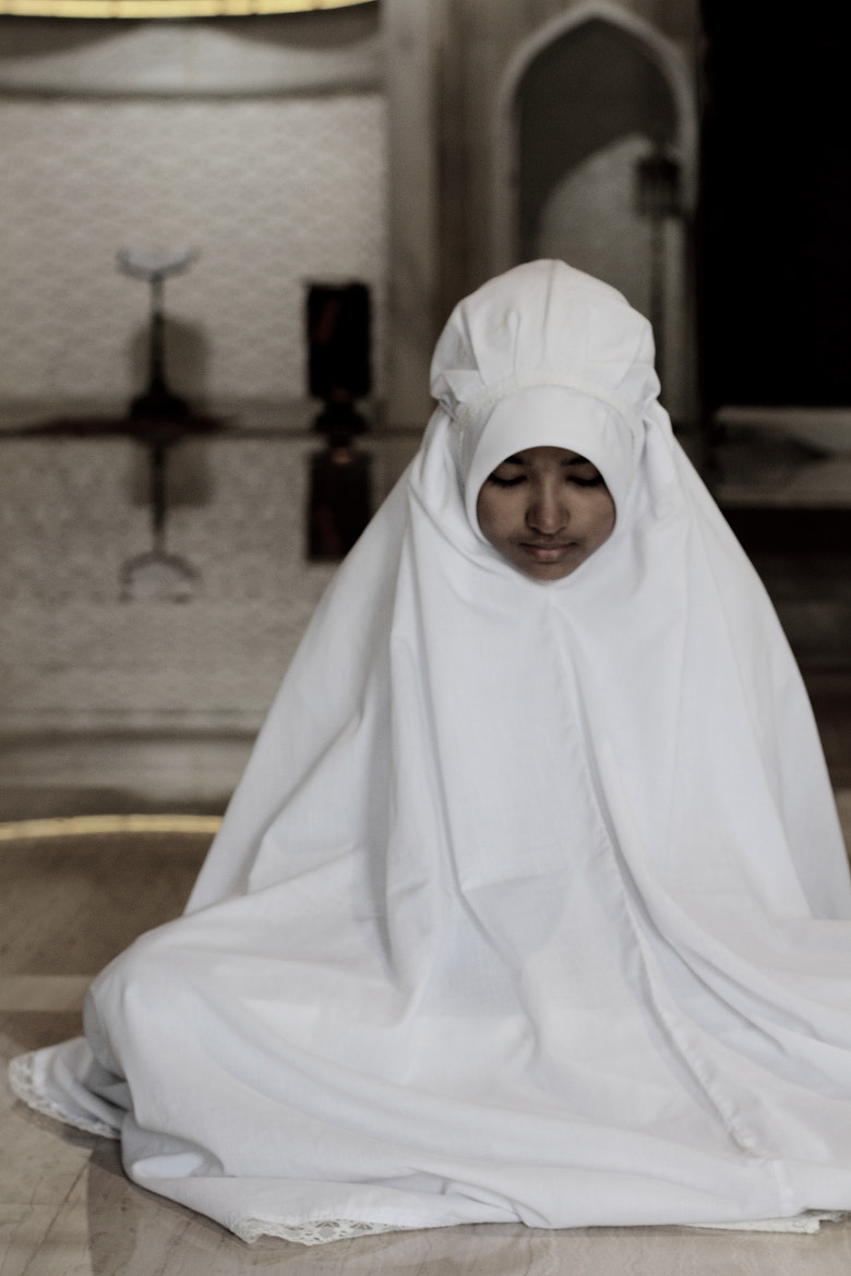 Photograph Muslim girl in prayer by Pucca Pook on 500px