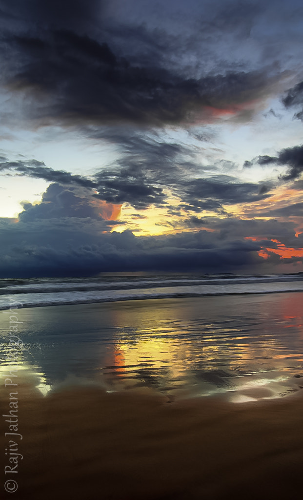Photograph Blaze behind the clouds by Rajiv Jathan on 500px
