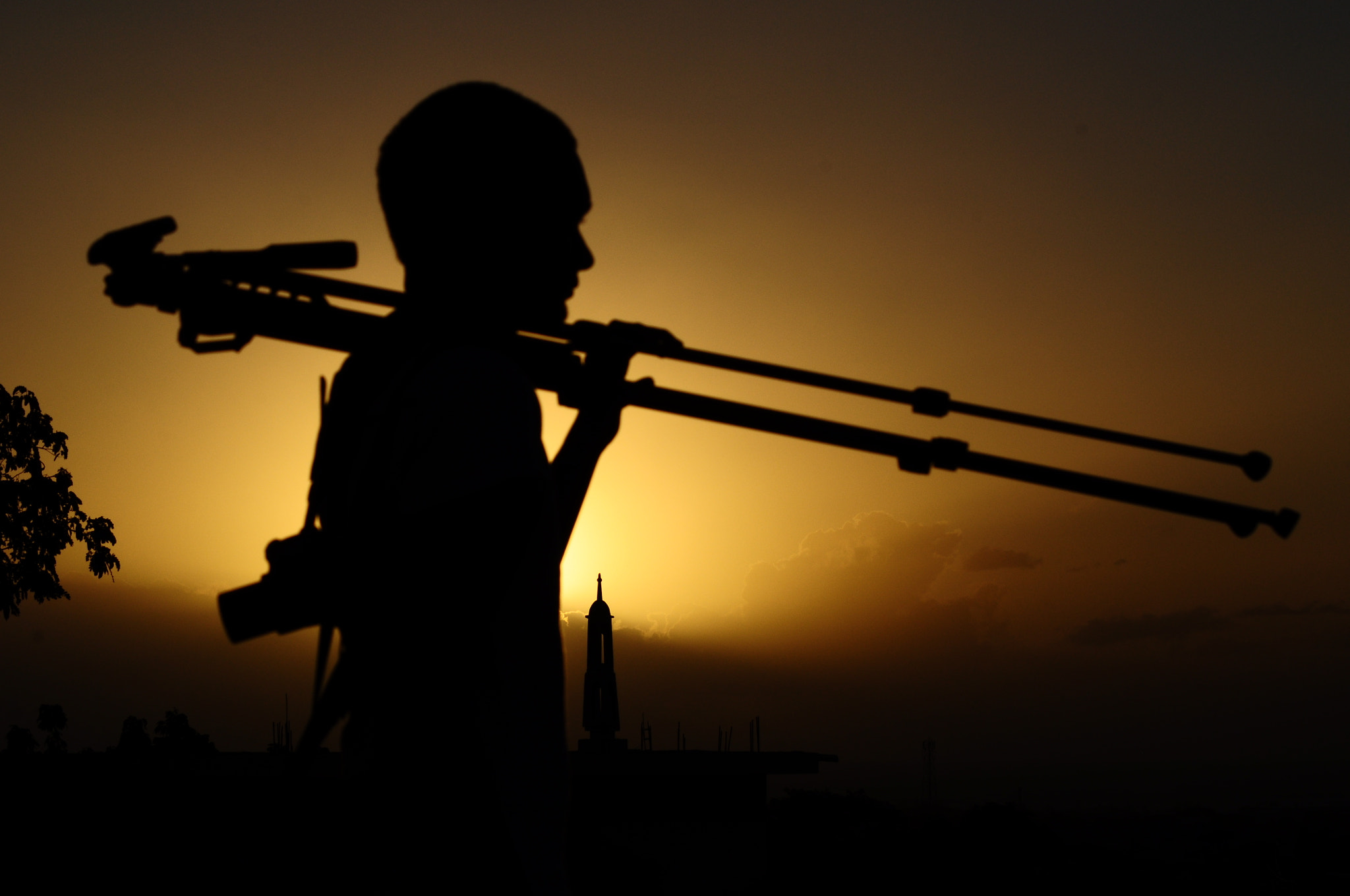 Photograph Silhouette of an image hunter by Ziyad Kadayer on 500px