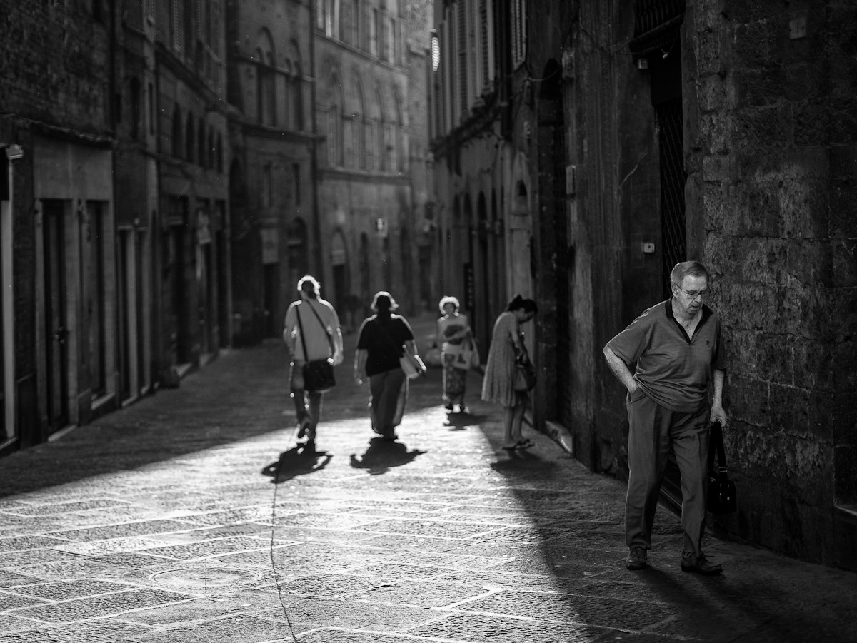 Photograph Siena street morning by Michael Avory on 500px