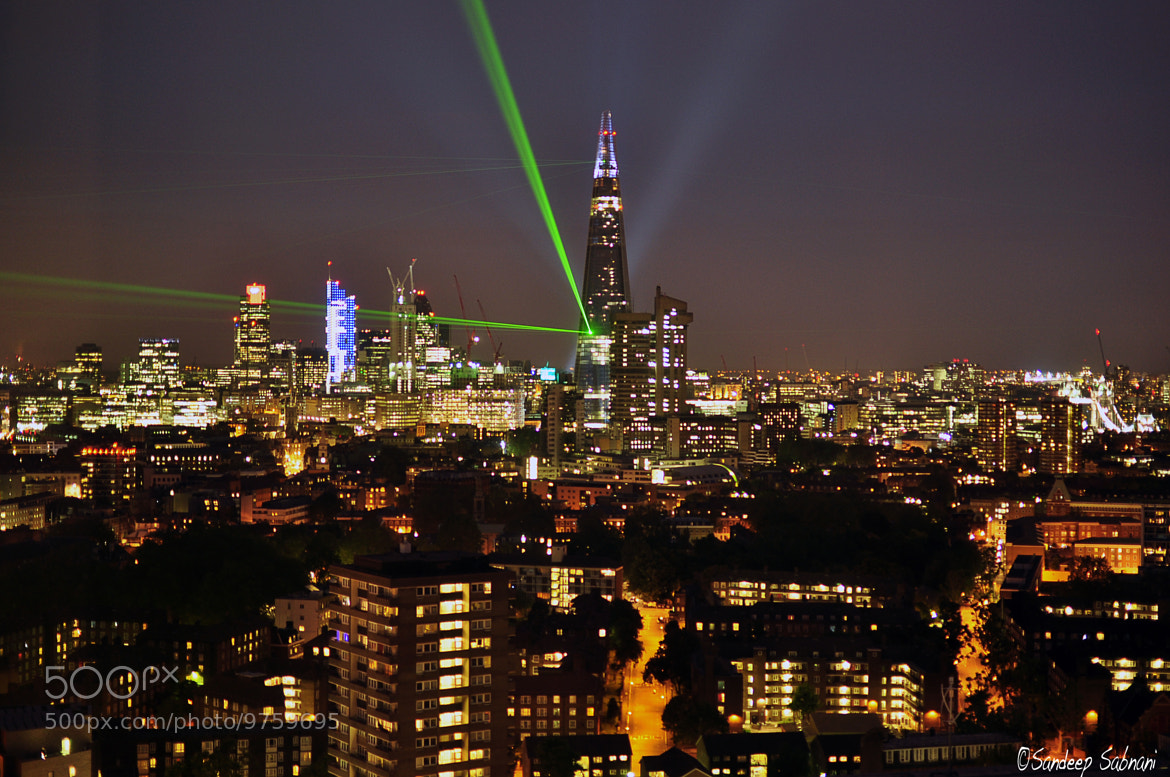 Photograph The Shard Inauguration by Sandeep VS on 500px