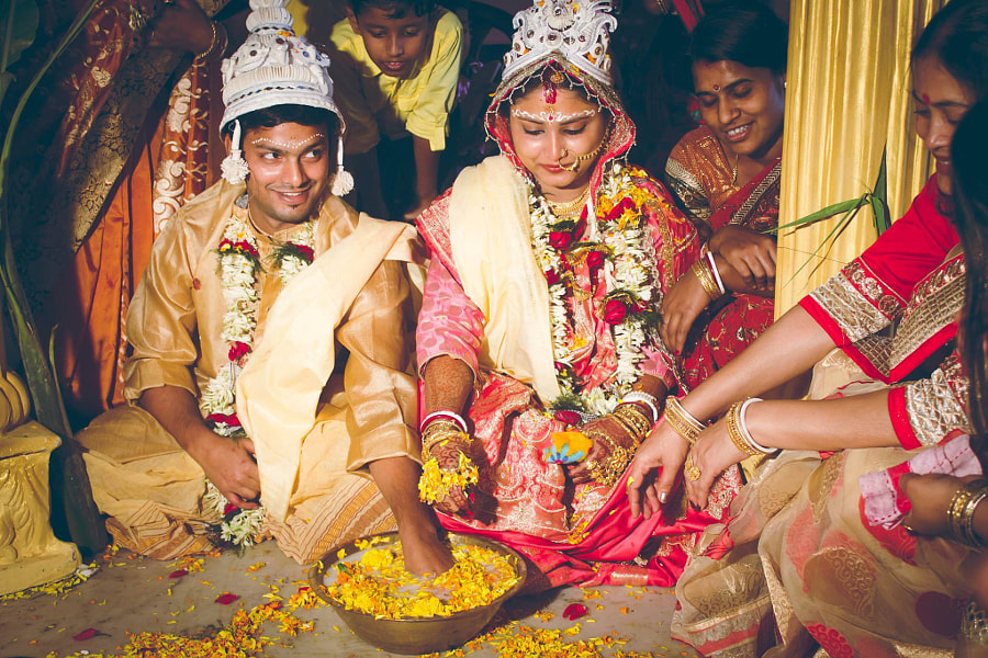 The great Indian Wedding by Prasenjeet Das on 500px.com