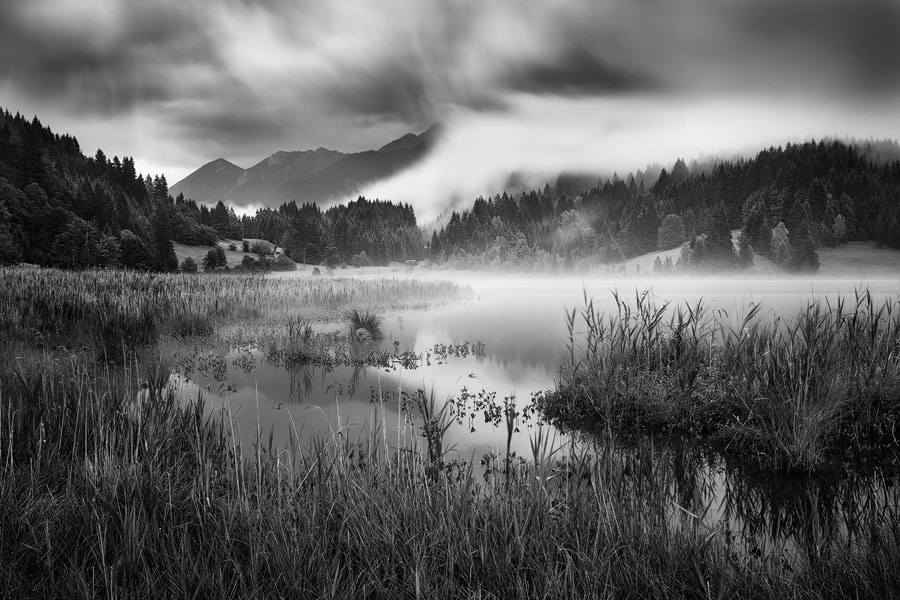 Photograph Gloomy Lake by Michael  Breitung on 500px