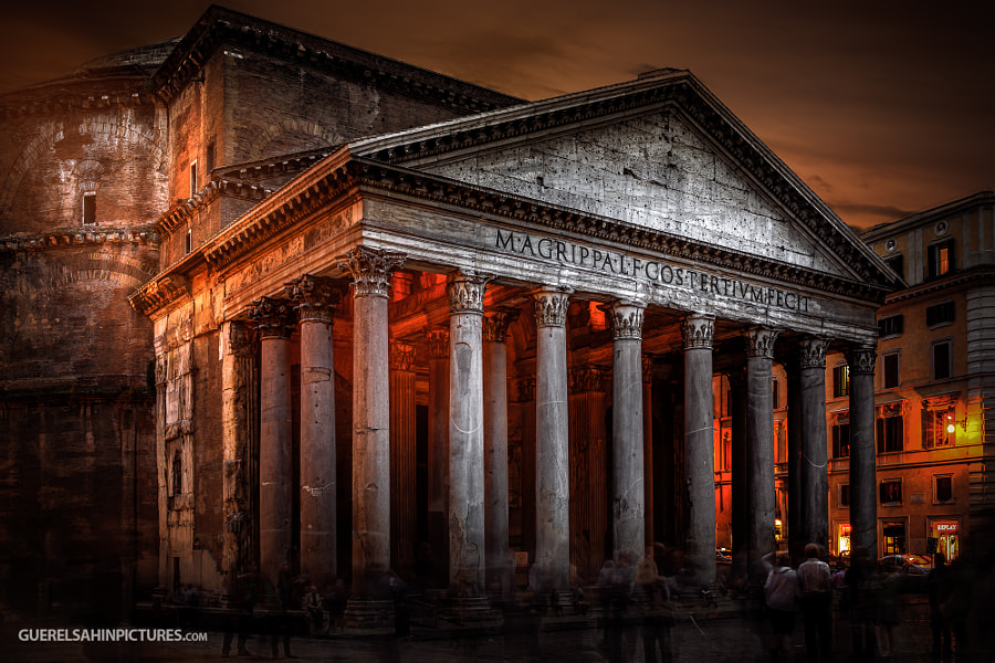The Pantheon by guerel sahin on 500px.com