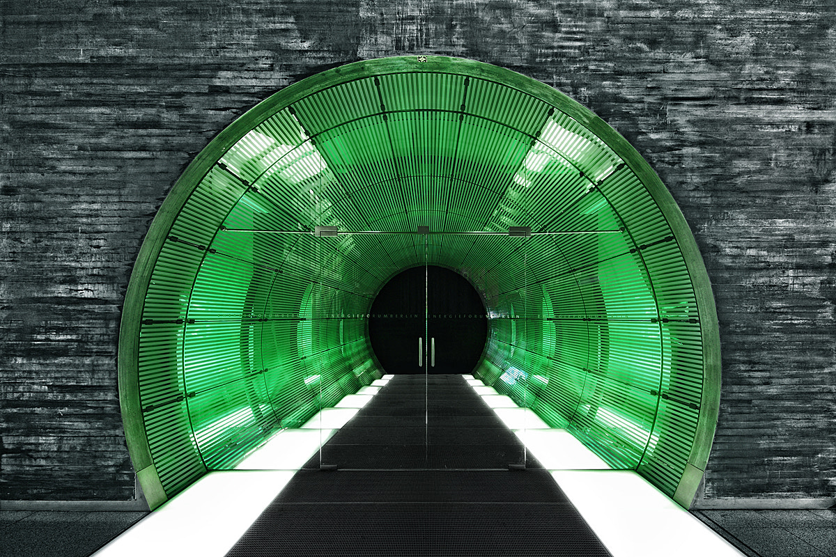 Photograph Green exit by Ralf Wendrich on 500px