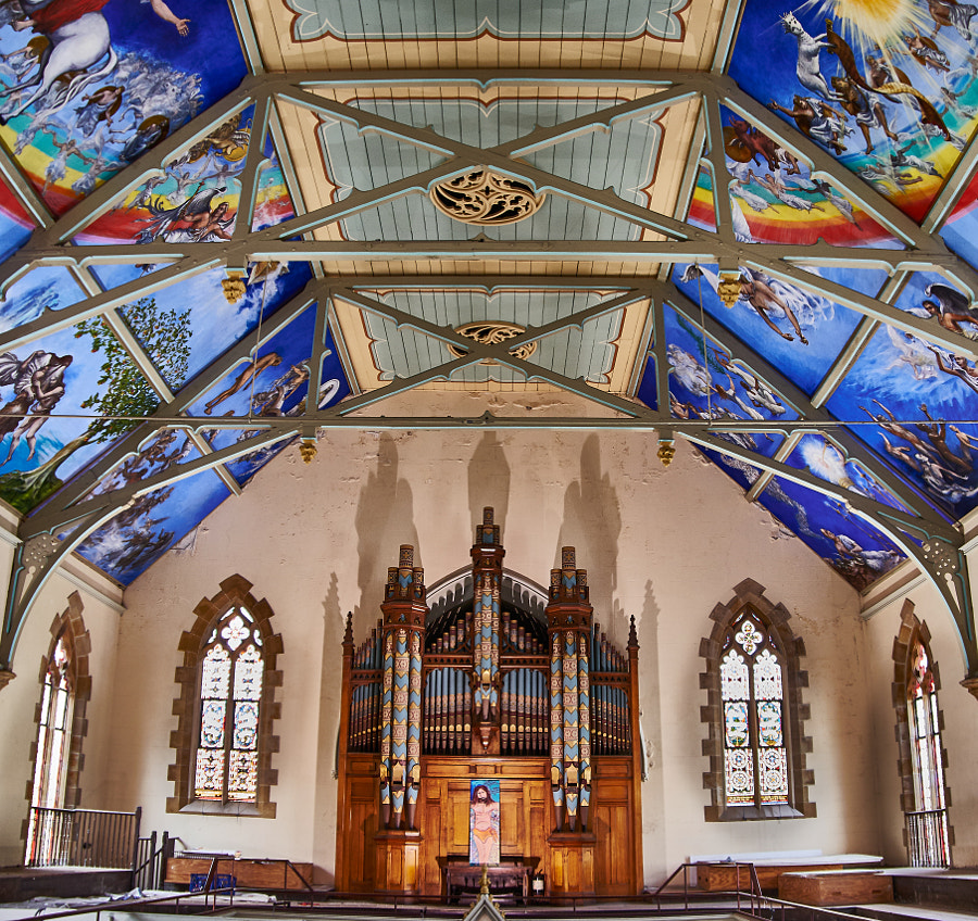 Photograph Newtown Mission Church, Sydney Australia by Travis Chau on 500px