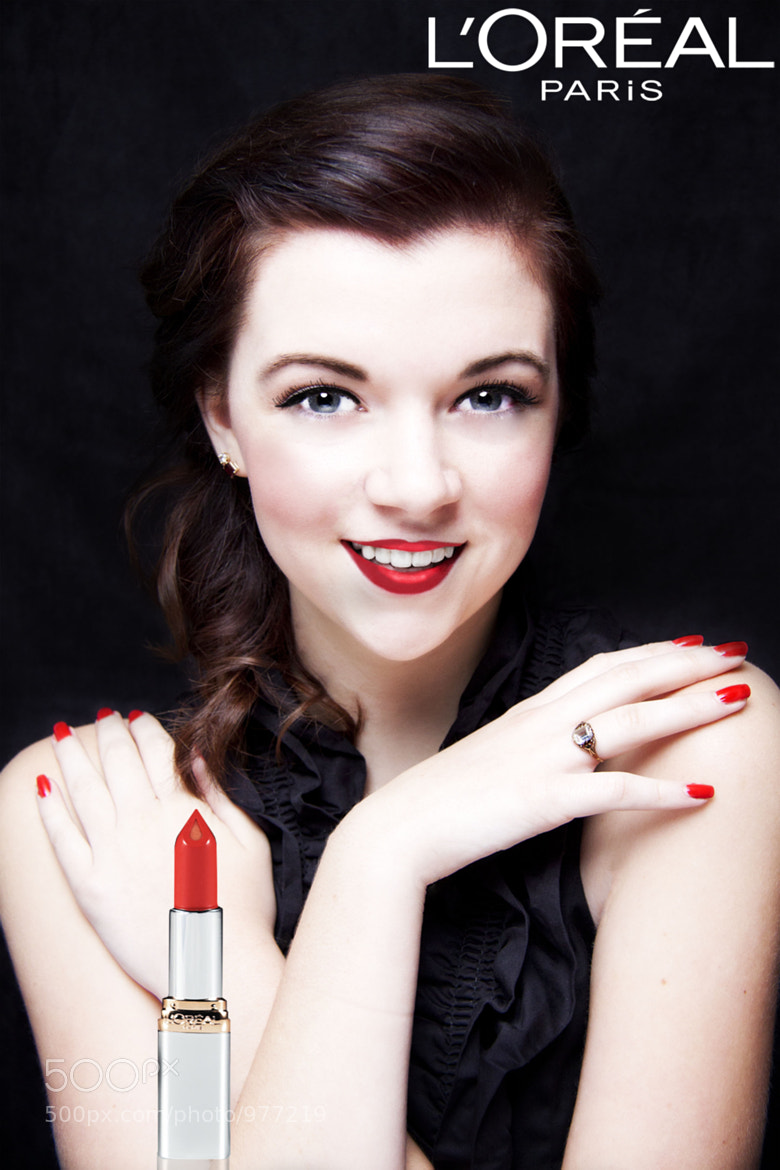 40s Makeup Ad by Kathleen Williams / 500px