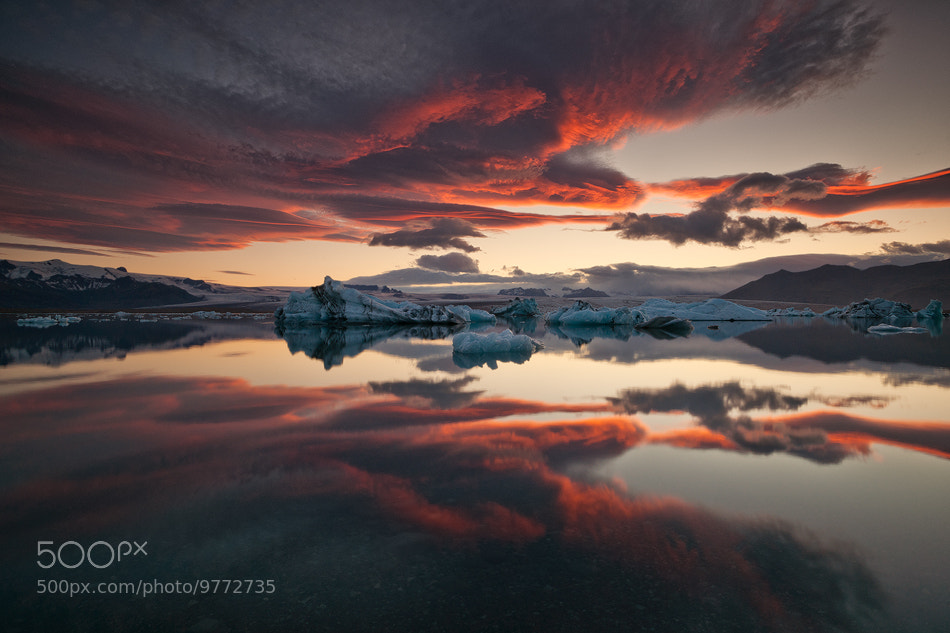 Photograph [ ... glacier lagoon ] by Raymo-Photography on 500px