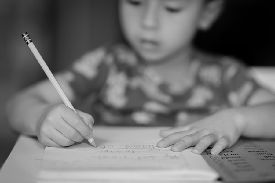 Photograph Homework Hands by Aliya Weise on 500px