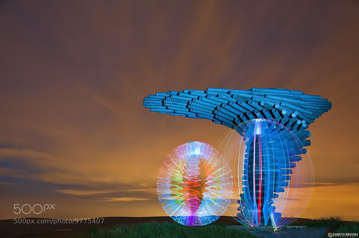 Photograph Singing Ringing Tree - Light Painted by Gareth Brooks on 500px