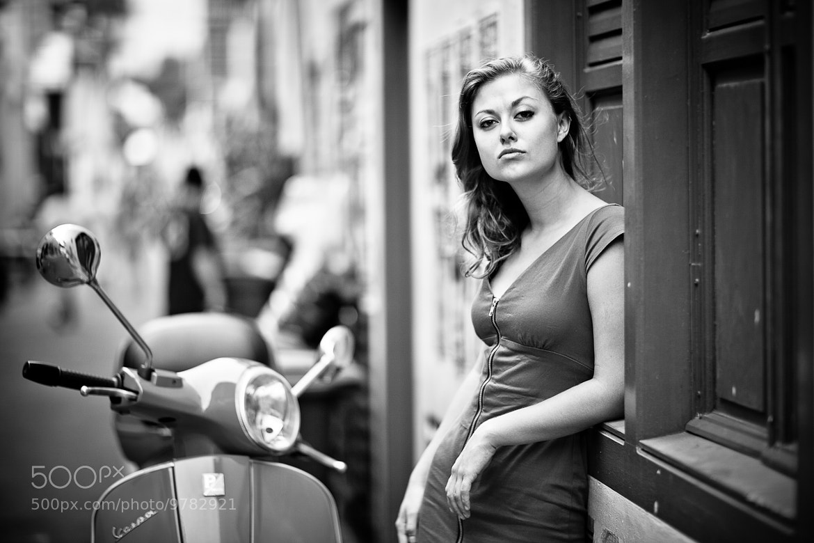 Photograph Me and My Vespa by Mahaendra Gofar on 500px