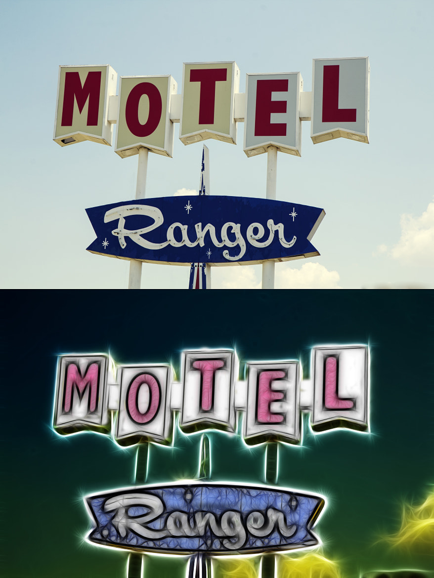 Photograph Motel Ranger by Donnie Nunley on 500px