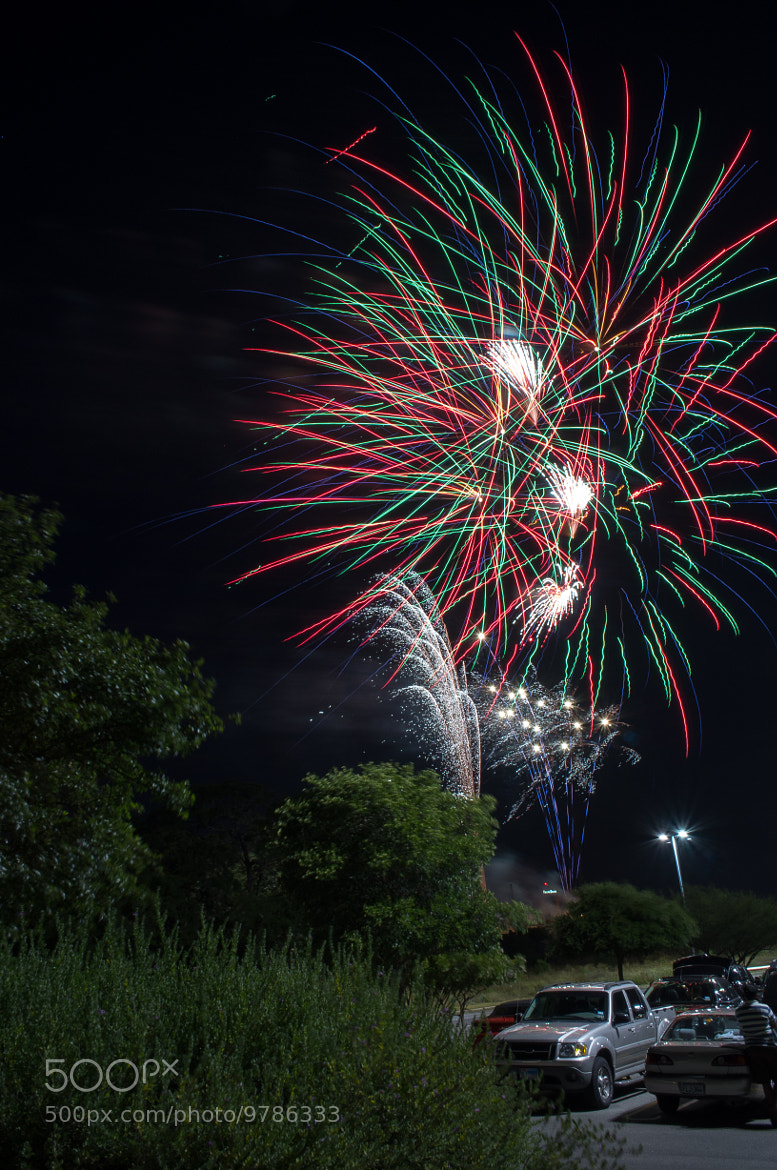 Photograph 4th July Fireworks by Rizwan Ahmed on 500px