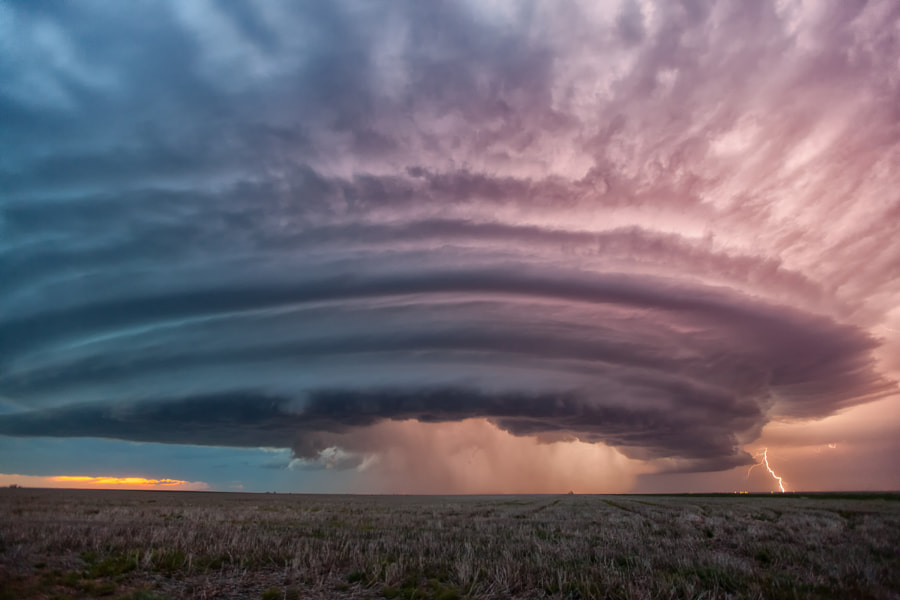 Photograph Kansas Storm by Roger Hill on 500px